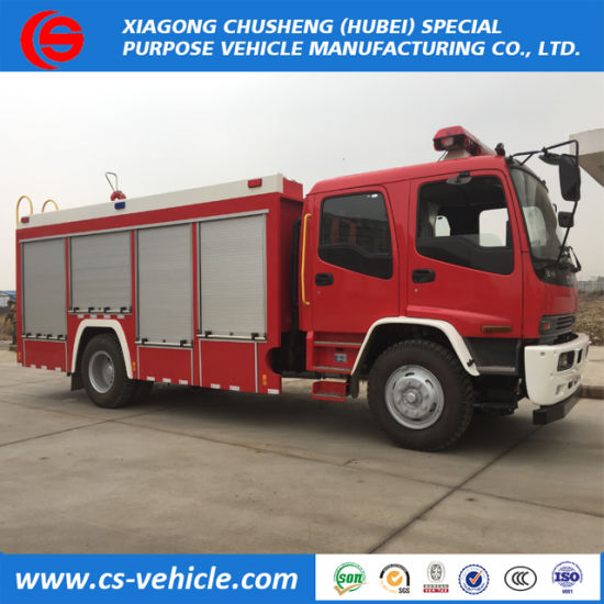 Cheap Price 4X2 Water Tank Isuzu Fire Fighting Truck