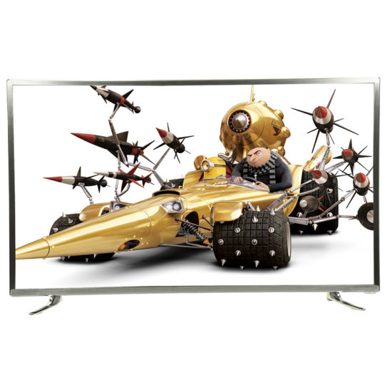 """Hot Sale, Aluminium Frame, Big Size 65"""" 4K UHD Smart LED TV with WiFi Function Can Play Youtube and Netflix for House and Hotel, Smart TV, Television Low Price"""