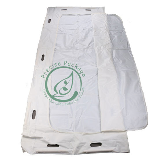 Funeral Leak-Free Body Bag White Bag for Deadth Bodies Human Body Pouch