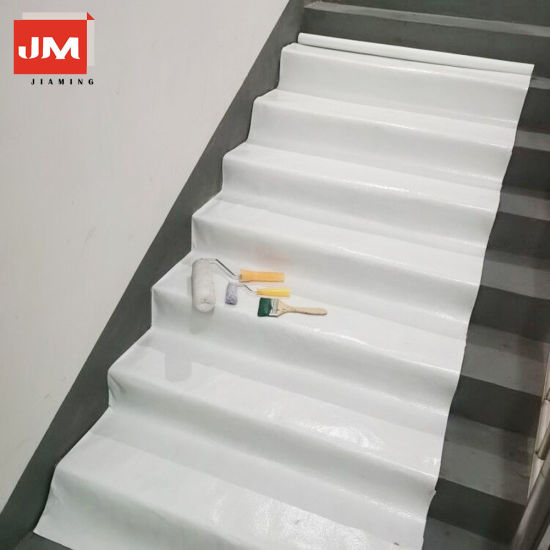 Painter Cover Fleece White 180 G/M2 50 X 1m Self Adhesive Absorbent Dust Free Reusable Painter Felt Renovation and Covering