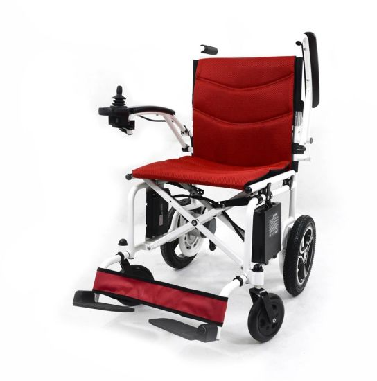 Foldable Electric Wheelchair for The Handicapped with Ce Certification