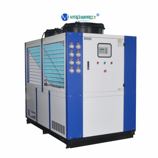 40HP/ 30rt Plastic Machine Use Eco-Friendly Refrigerant R407c Air Cooled Industrial Water Chiller