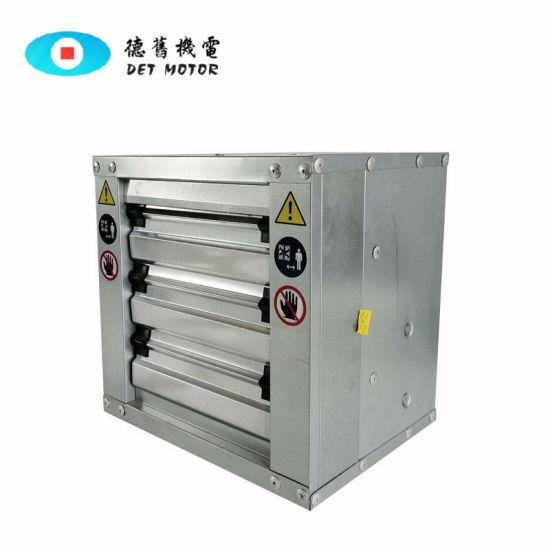 Js Square Negative Pressure Blower Stainless Steel Axial Flow Fan