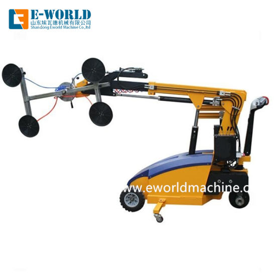 Loading & Unloading Transporting with Glass Robot Lifter Gl300