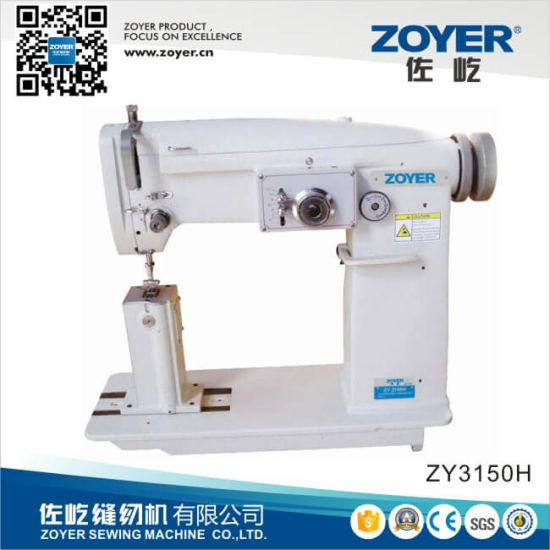 Zy3150h Zoyer Post-Bed Single Needle Zig-Zag Machine