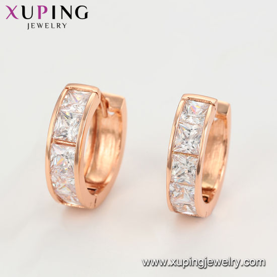 129e753df32cc China Imitation Fashion Cheap Small Stone Around Rose Gold Earrings ...