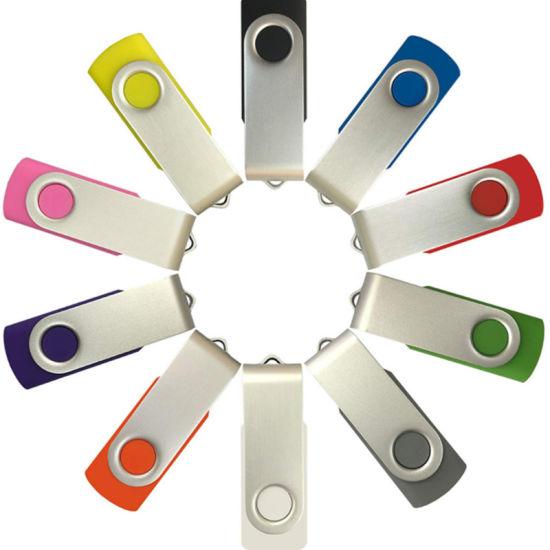 Classical Plastic Swivl USB Stick Flash Drive 2GB 4GB 8GB 16GB 32GB 64GB; USB2.0 Memory Disk Memory Pendrive External Storage Stick Ratating Memory Drive