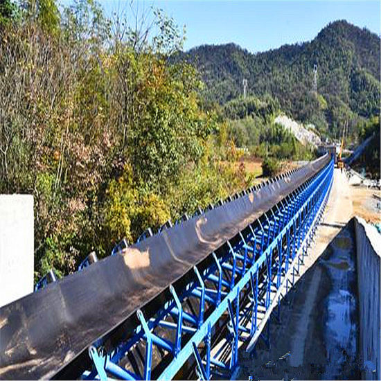 Long Distance Conveyor in Cement Plant Belt Conveying System