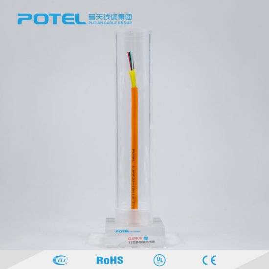 Gjpfjv 2 Core Indoor Multi Mode Fiber Optical Cable pictures & photos