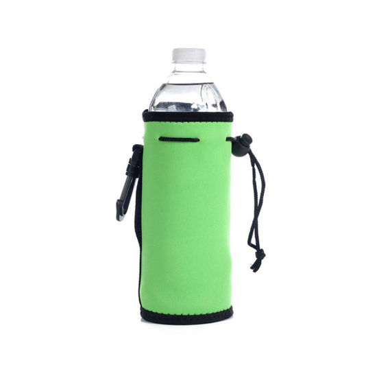 2019 Custom Logo Neoprene Water Bottle Drawstring Insulator Cooler Bag pictures & photos