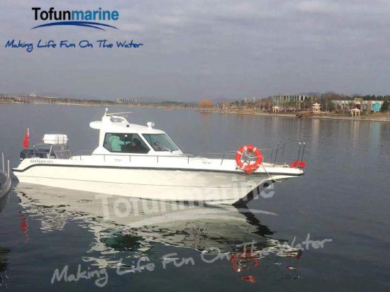10m/33feet Fishing Boat/Fiberglass Boat/Power Boat/Speed Boat/Yacht/Motor Boat/Cabin Boat