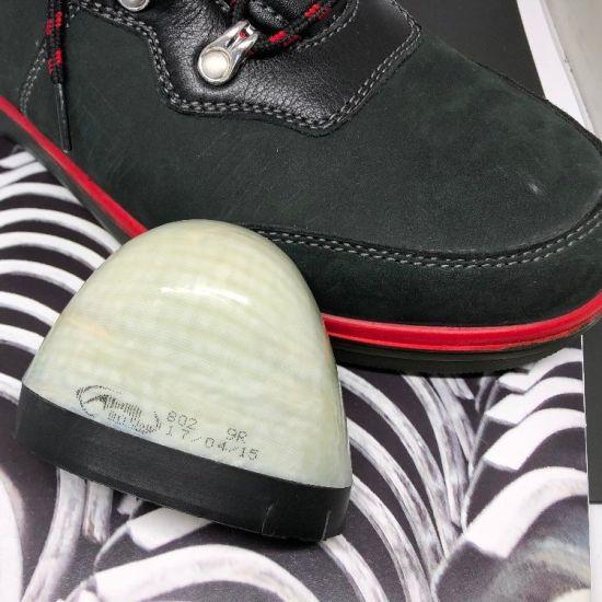 Removable Composite Toe Cap Safety Shoe