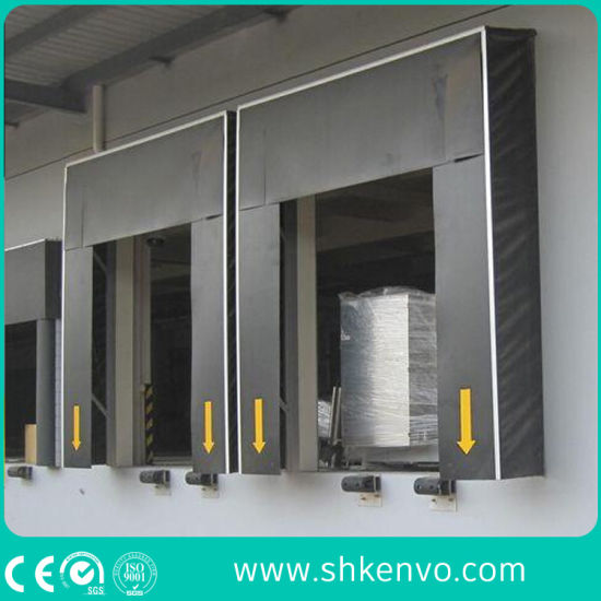 Mechanical PVC Curtain Loading Dock Weather Door Seal for Warehouse