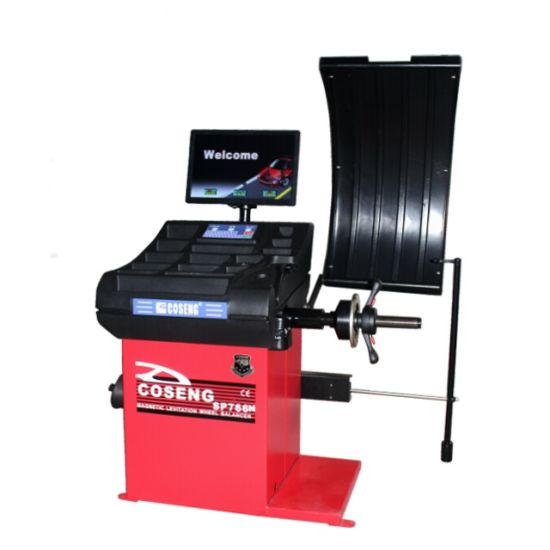 2019 New Model Computer Wheel Balancer for Car Tyre Repair Working of Car Service Shop 766n