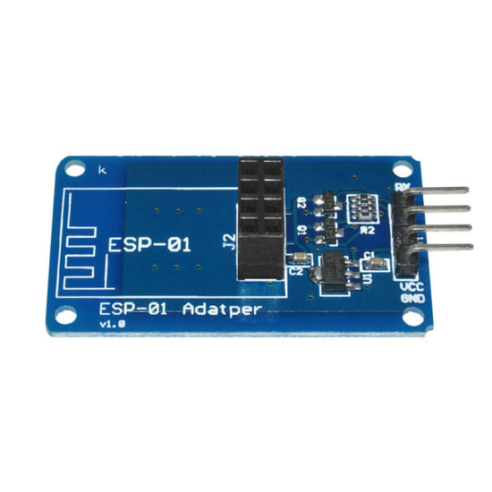 Esp8266 Esp-01 Serial WiFi Wireless Adapter Module 5V to 3.3V PCB Adapters pictures & photos