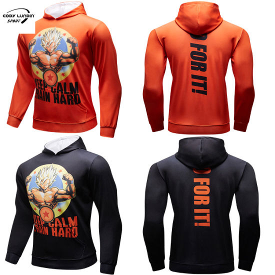 Cody Lundin Hoodies China Factory 93%Polyester+7%Spandex Sweatshirts Polyester Hoody for Cycling