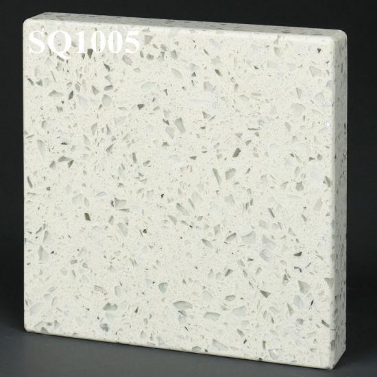 Factory Engineered Stone Stellar White