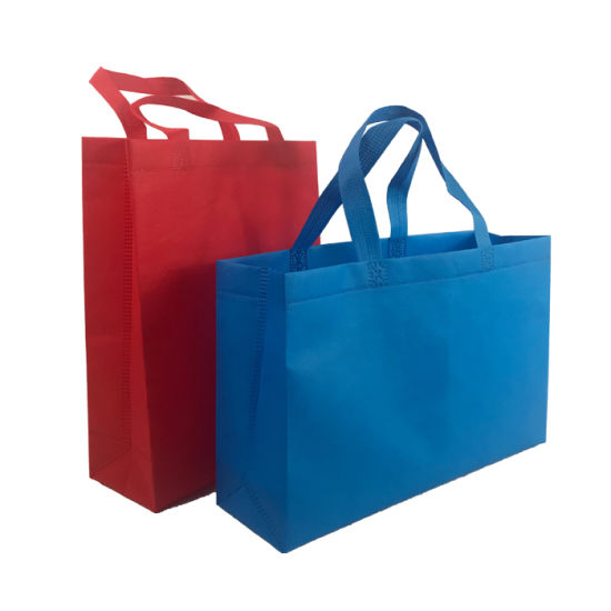 colorful Nonwovens Shopping Bag Material Hands Bag