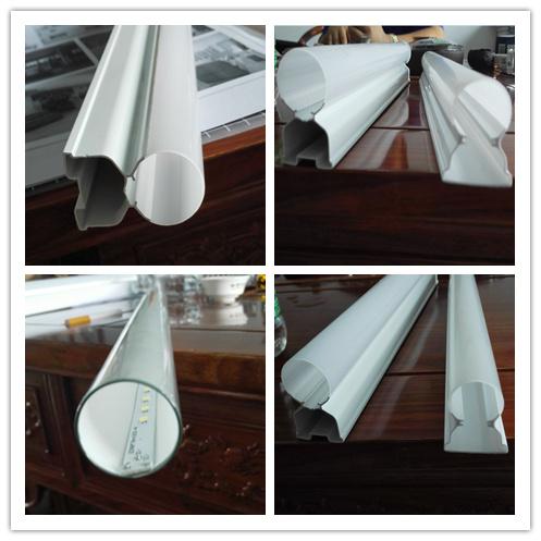 LED Tube T5/T8 PVC/PE/PP/ABS Plastic Pipe Machine