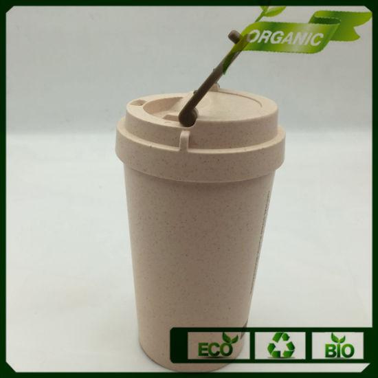 LFGB Bio Keep Worm Water Bamboo Fiber Cup