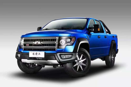 4*2, 4*4 Gasoline LHD Pickup Pick up Car with Mitsubishi Engine