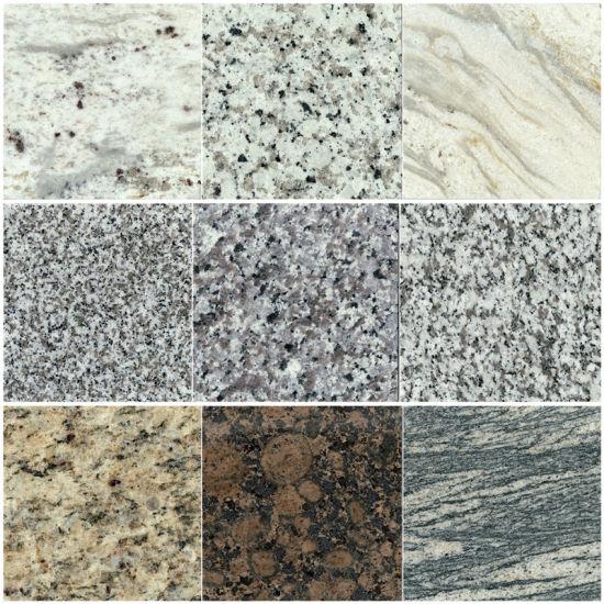 China Natural White/Grey/Brown/Black/G602/G603/G654/G684 Granite for Slabs/Tiles/Countertops