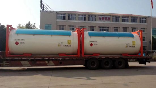 20 FT LPG ISO Container Tank for Gas Transportation