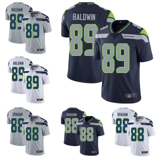 b91dc2d4331 Custom Mens Jimmy Graham Doug Baldwin Ameican Football Player Jersey. Get  Latest Price