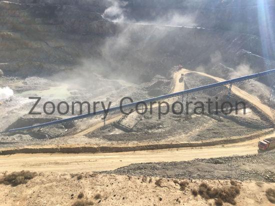 Coal Mining Belt Conveyor System with Steel Core Rubber Belt