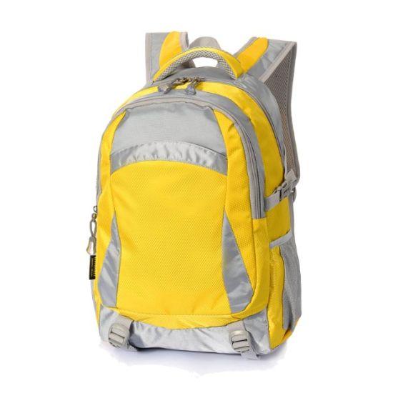 China Mochila Custom Adult School Book Bag Nylon Outdoor Student College Backpack