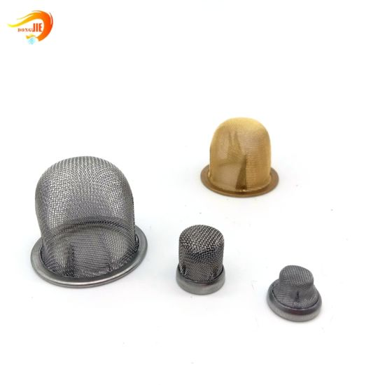 Copper or Brass Mesh Strainer Cap Aerator Pump Strainer Sink Strainer Waste Filter