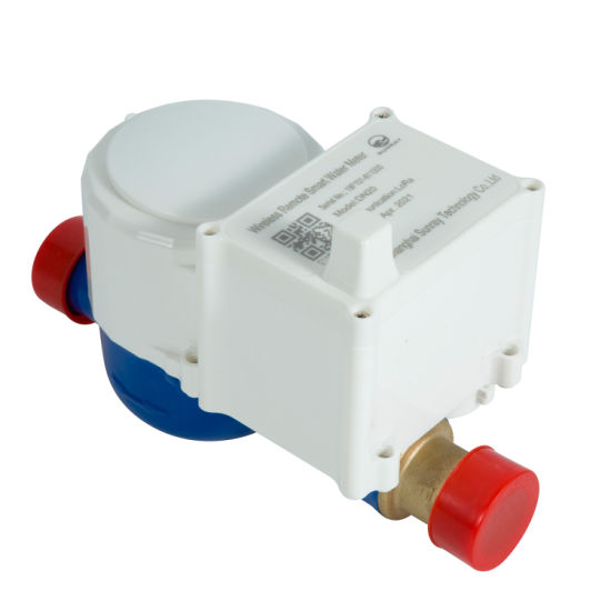 Valve Control Water Meter for Hot Water
