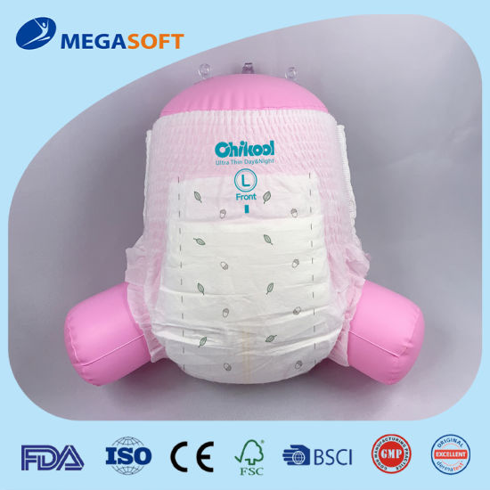 Ultra Thin Q-Shape Disposable Baby Pants