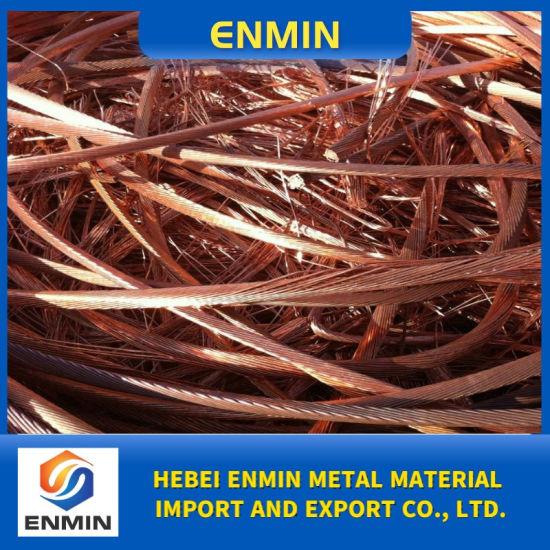 Pure Copper Scrap Strip Copper Wire Scrap 99.95% Made in China