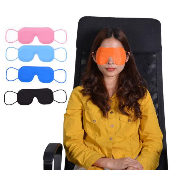 New Design Double Sided Sleeping Eye Mask with Elastic Band Breathable Travel Sleep Eye Mask