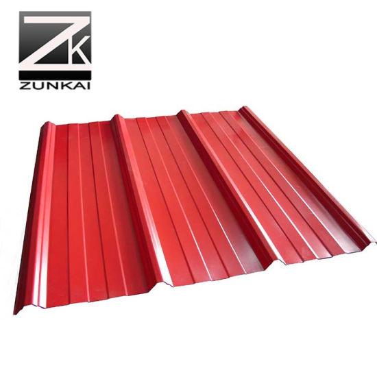 6galvanized Roof Sheet Corrugated Steel Sheet Gi Iron Roofing Sheet