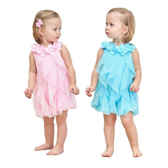 Fashion Clothing Baby Dress Skirt Girl Dress Baby Clothes