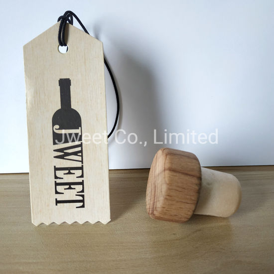 T Shape Wooden Caps Wine Bottle Cork Stopper