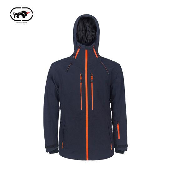 China Made New Softshell Jacket Custom Design Winter Work Wear Men's Windproof Waterproof Fleece Lined Zip Shell Hard up Soft Wind Breaker Rain Outdoor Jackets