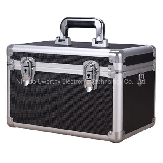 Hot Sale Custom Aluminum Essential Oils Carrying Case with Foam
