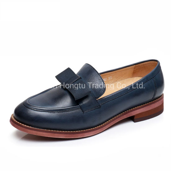 Tali Bow Loafer Women Flats Shoes