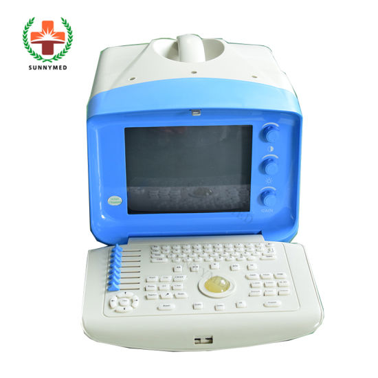 Sy-A001-N Guangzhou Cheapest Portable USG B/W Black White Ultrasound Scanner pictures & photos