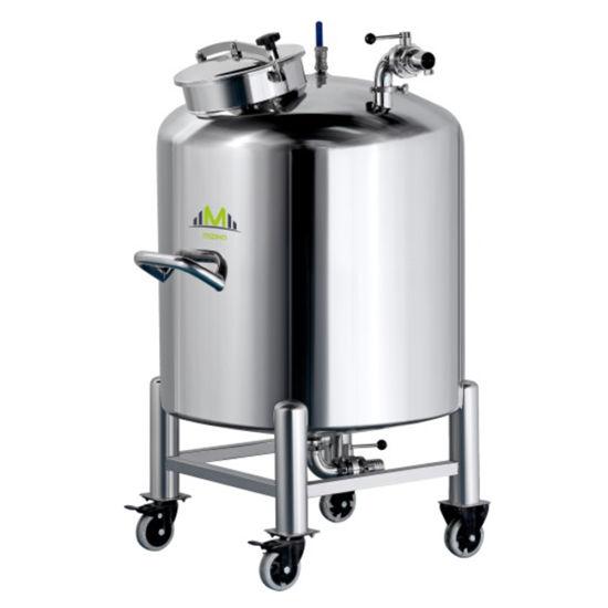 Stainless Steel Vacuum Storage Tank Chemical Tank Pressure Tank Vessel