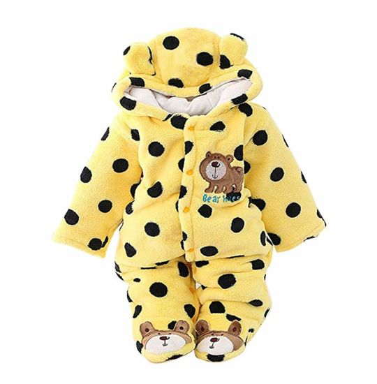 Newborn Baby Wear Sleeping Pajama Outfit Hoodie Clothes