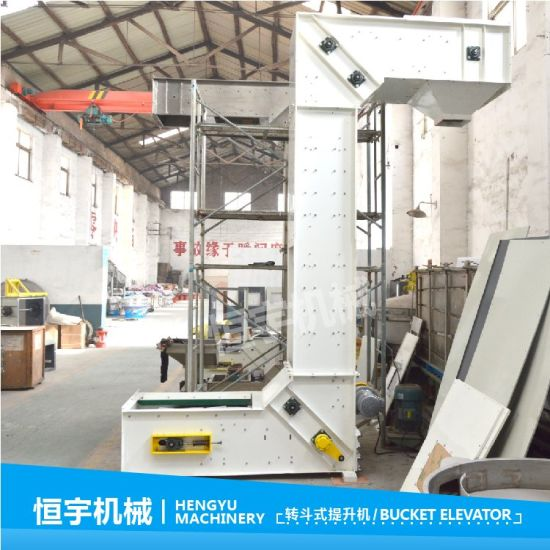 Calcium Oxide Bucket Elevator/Carbon Black Vertical Lifter Conveyor