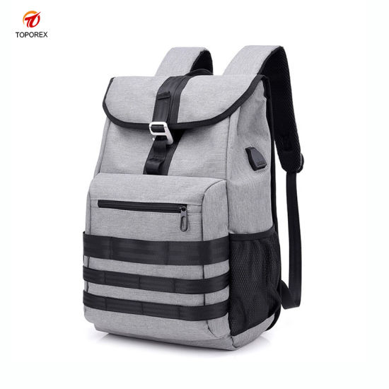 9160ba928ad6 China Custom Sport School Laptop Backpack Bag with Charger Port ...