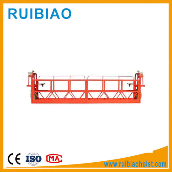 Zlp800 7.5m 800kg Steel and Aluminum Electric Window Cleaning Suspended Scaffolding Platform