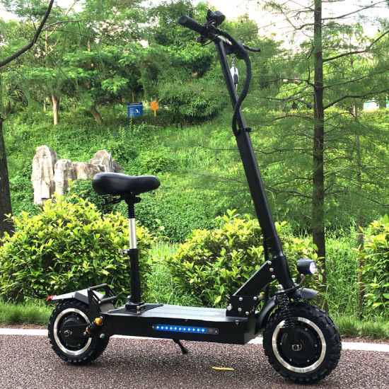 Ce 11 Inch 2-Wheeled 3200W Dual Power Offroad Electric Scooter