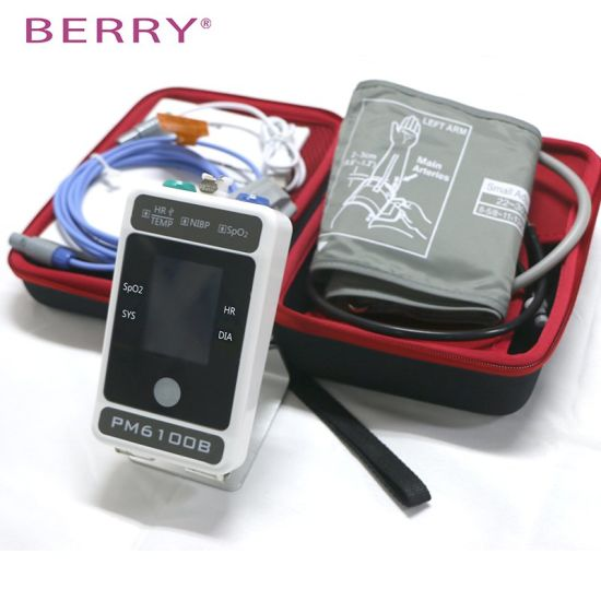 China Manufacturer Operation ECG NIBP Patient Monitor