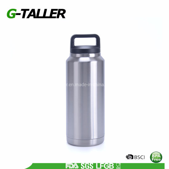 Travel Fitness Stainless Steel Water Bottle